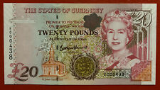 More details for guernsey £20 note low number e000438 unc