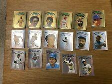 1981 Topps Baseball Sticker Incomplete Set # 1-257 Stickers