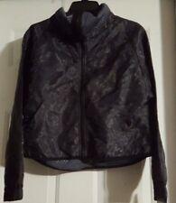 New Women's Champion C9 Black Long Sleeve Zip Up Bomber Jacket Size XS X-Small
