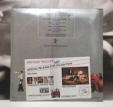"""SPANDAU BALLET - ROUND AND ROUND LONG VERSION 12"""" + POSTER STICKER CARDS SEALED"""