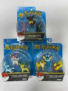 Figure Battle For Pokemon Pack Action Figures Toys  Vaporeon Espeon Eeveelutions
