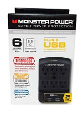 Monster Core Power 650 USB 6-Outlet Surge Protector - MPEXP650USB