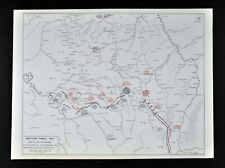West Point WWI Map Western Front Battle of Marne Defense of Paris France Germany