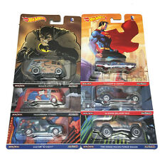 Hot Wheels 2016 Pop Culture Batman Superman D Case Set of 6 Cars DLB45-956D