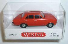 Wiking 079004 Opel Kadett B Limousine 1965 - 1973 verkehrsrot 1:87 Spur H0