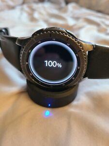 Samsung SM-R760  Gear S3 Frontier Bluetooth Smart Watch - Black - DEFECTIVE