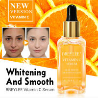 BREYLEE Natural Vitamin C Serum Brighten Face Skin Care Fade Dark Spots Freckle