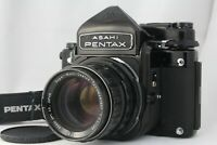 [ NEAR MINT ]  Pentax 6x7 67 TTL Mirror Up w/ SMC Takumar 105mm f2.4 from Japan