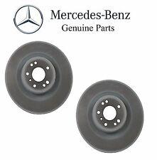 Mercedes Pair Set Of Front Disc Brake Rotors Diameter 350mm Genuine  1644211412