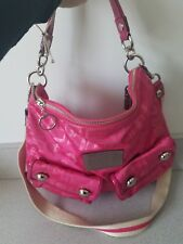 Coach Poppy Storypatch Swing Hobo Pink