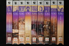 9 VHS Tapes, Ken Burns Presents The West Vol 1 - 9/ PBS Home Video/Time Life