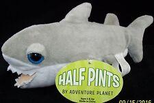 Adventure Planet Great White Shark Plush toy Big Eyes 2011 Half Pint Fish NWT