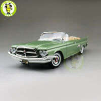 1/18 1960 Chrysler 300F Road Signature Diecast Model Car Toys Boys Girls Gifts