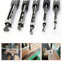 High Hardness HSS Metric Mortising Chisel Square Hole Drill Bit Cutter Tool