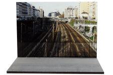 Diorama Pont sur voie ferrée / Bridge over rail tracks - 1/43ème - #43-2-B-B-031