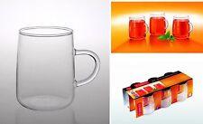 Tassen & Untertassen aus Glas fürs Esszimmer