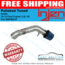 Injen for 10-12 Ford Fusion 3.5L V6 Polished Tuned Intake SP9061P