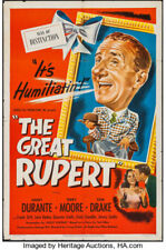 16mm full feature A CHRISTMAS WISH (aka THE GREAT RUPERT). Jimmy Durante (1950).