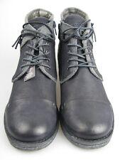 BUGATTI j4725-5g Donna Scarpa bassa blu/grigio pelle 38 TGL