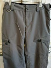 Volcom ski and snowboard pants - gray, medium