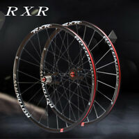 RXR MTB Mountain Bike Wheels Front Rear QR/Thtu Axle Wheelset Rim 26/27.5/29""
