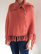 BCBG  pink/orange poncho