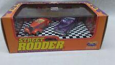 Hot Wheels Street Rodder Hot Rod Series #1 1934 Roadster & 1947 convertible 1998