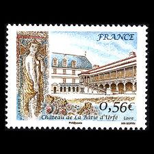 France 2009 - La Batie d'Urfe Castle Architecture - Sc 3592 MNH