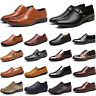 Mens Smart Formal Business Office Work Dress Wedding Oxford Brogue Casual Shoes