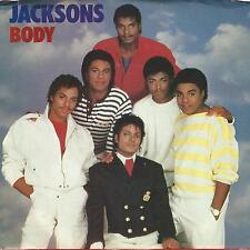 Jacksons (Michael Jackson)  Body b/w Body (Instrumental) 45 rpm & Pic Slv - VG++
