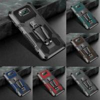 For Xiaomi POCO X3 NFC Mi 10T Pro Lite Hybrid Armor Metal Cover E9W8 Case P1C4