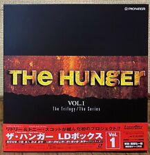 THE HUNGER Vol.1  RIDLEY & TONY SCOTT  JAPAN 4LD Box Set Laserdisc PILF-2574