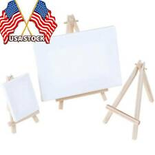 Mini Wooden Tripod Easel Display Painting Stand Card Supplies Canvas Holder Jeu
