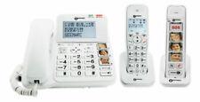 Senioren Telefon Geemarc Pack Senior Amplidect 295 mit zwei Mobilteilen + Festst