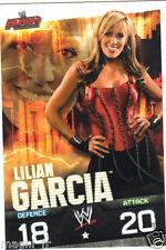 Slam Attax Raw - Lilian GARCIA