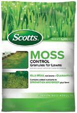 (2) Bag Of Scotts 5,000 Sq Ft Moss Control Granules Ferrous Sulfate - 31015