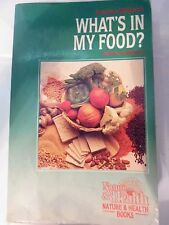 What's in My Food? : A Book of Nutrients by Xandria Williams (Paperback) st#2074