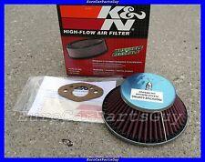 "Sprite MG Midget Morris Minor Mini Cooper S SU HS2 1.25"" Carb K&N Air Filter"