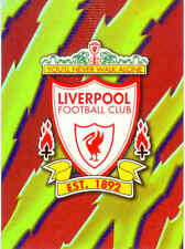 1999 Merlin Premier Gold Soccer Team Logo Foil Card A11 Liverpool