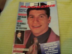 """TELE MAGAZINE N°1978 - 1993"" Nagui, Nina MORATO, Marie TRINTIGNANT"