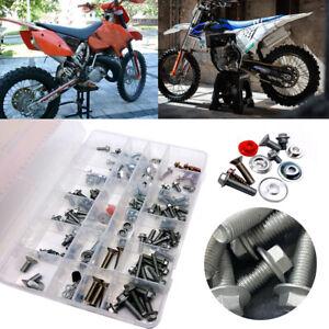 160 Piece Bolt Kit Motorcycle Hardware Kit FOR KTM EXC-R EXC-F SX SX-F Husqvarna