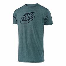 Troy Lee Designs TLD Casual de manga corta Camiseta LOGOTIPO Laguna Verde Azulado