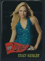 Stacy Keibler 2006 Topps Heritage Chrome WWE Card #66 Pro Wrestling Superstar DV