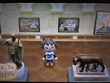 Museo Completa Pinturas & estatuas-Animal Crossing New Leaf