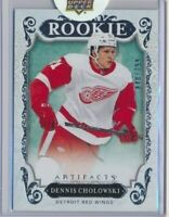 2018-19 Artifacts Rookie RED218 Dennis Cholowski /799 Detroit Red Wings