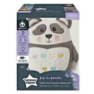 Tommee Tippee Pip the Panda Rechargeable grofriend Night Light & Sound Sleep Aid