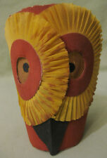 1920's Rare Halloween Owl Light Shade by C. A. Reed Co