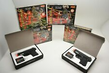 ROBOGEAR/AIRSOFT COMBO FUN SET. 2 GUNS AND 4 ROGOGEAR 2EA MADBULL,2 EA WEREWOLF