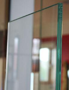 GLASPLATTE VSG SICHERHEITSGLAS 8MM 0,38 KLAR VERBUNDSICHERHEITSGLAS GLASSCHEIBEN