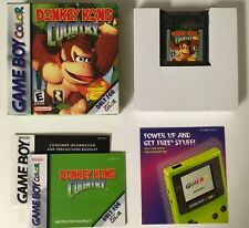 Donkey Kong Country Gameboy Color GBC CIB Complete Authentic GAME BOY Nr Mint